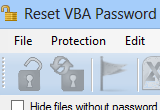 Free Download Reset VBA Password 4.13.315.0 with Crack Full Version