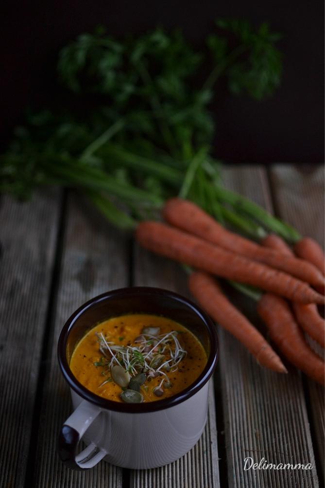 Zupa marchew- pomarańcza