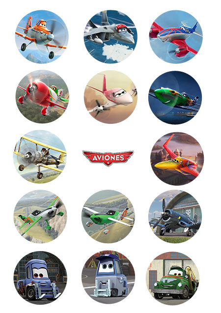 """Imprimible gratis """"Aviones"""""""