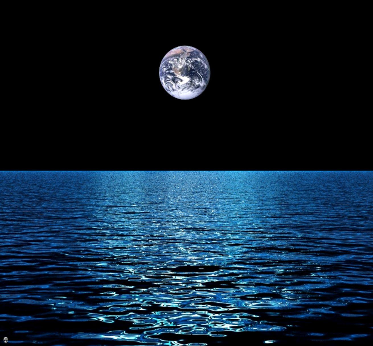 Download Dark blue ocean 1440 x 1280 Wallpapers   2927564
