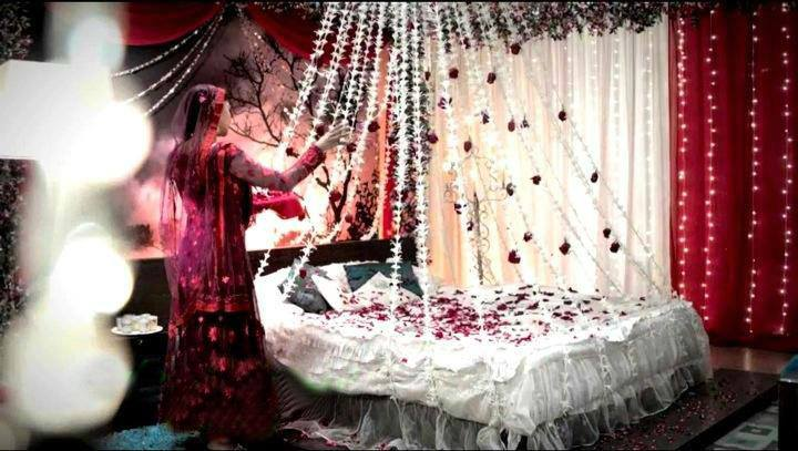 Elegant Bridal Bed Room Decoration Gurgaon
