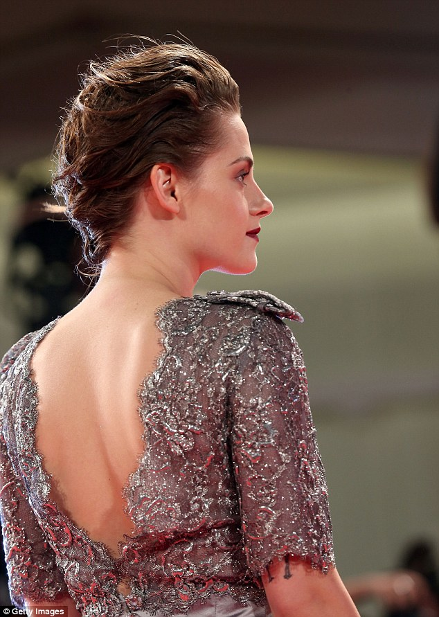 Kristen Stewart at the 'Equals' premiere