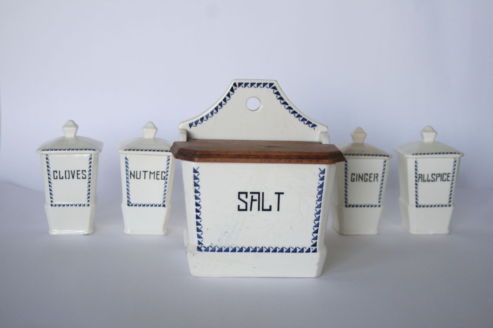 german ceramic kitchen canisters