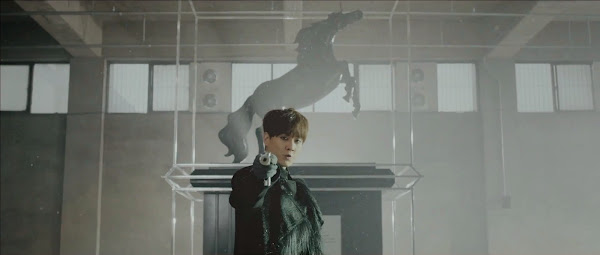 Shinhwa's Andy in the Sniper Music Video