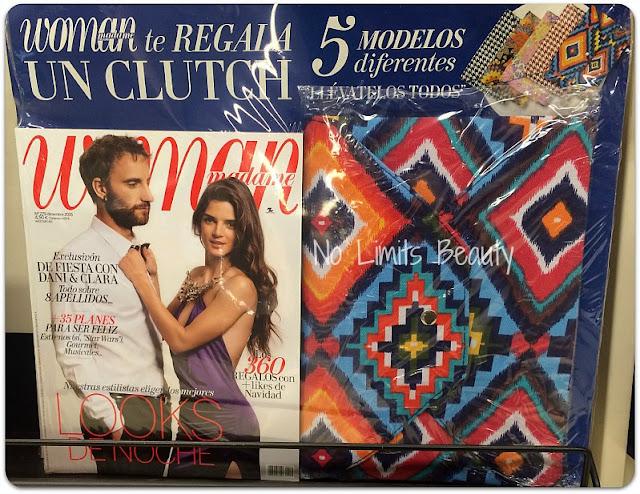 Regalos revistas diciembre 2015: Woman