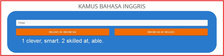 Cara Menggunakan Kamus Bahasa Inggris Online Di