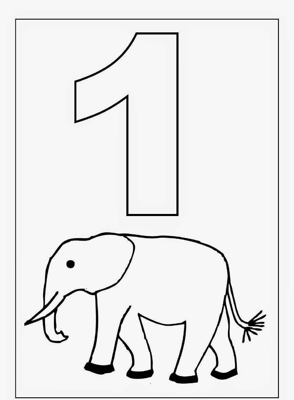 kindergarten worksheets coloring worksheets maths 1 10 - Coloring Worksheets For Kindergarten