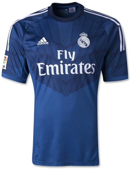 JERSEY REAL MADRID HOME GOALKEEPER OFFICIAL 2014-2015 GRADE ORI