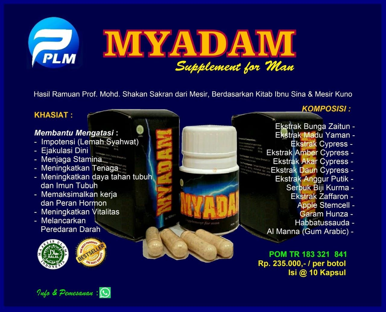 MyAdam | Mengobati Impotensi & Ejakulasi Dini