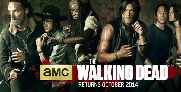 The Walking Dead poster season five