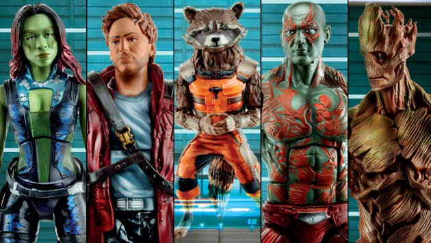 guardians of the galaxy,action figures