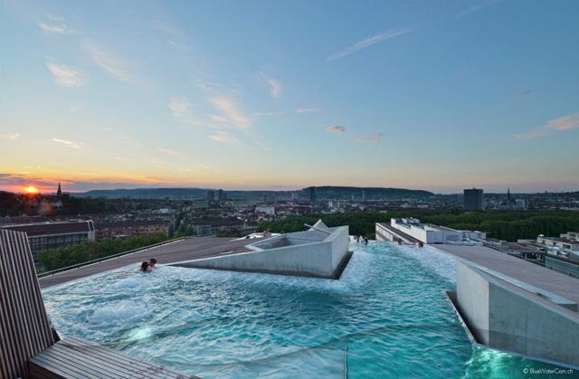Modern Architecture Zurich modern: brewing new from the old in zürich