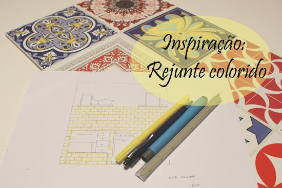 inspiração rejunte colorido casa de amados