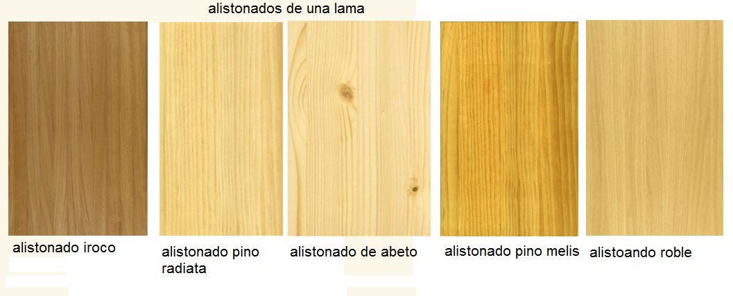 Made of wood tableros alistonados en madera tipos y - Tableros de madera para exterior ...