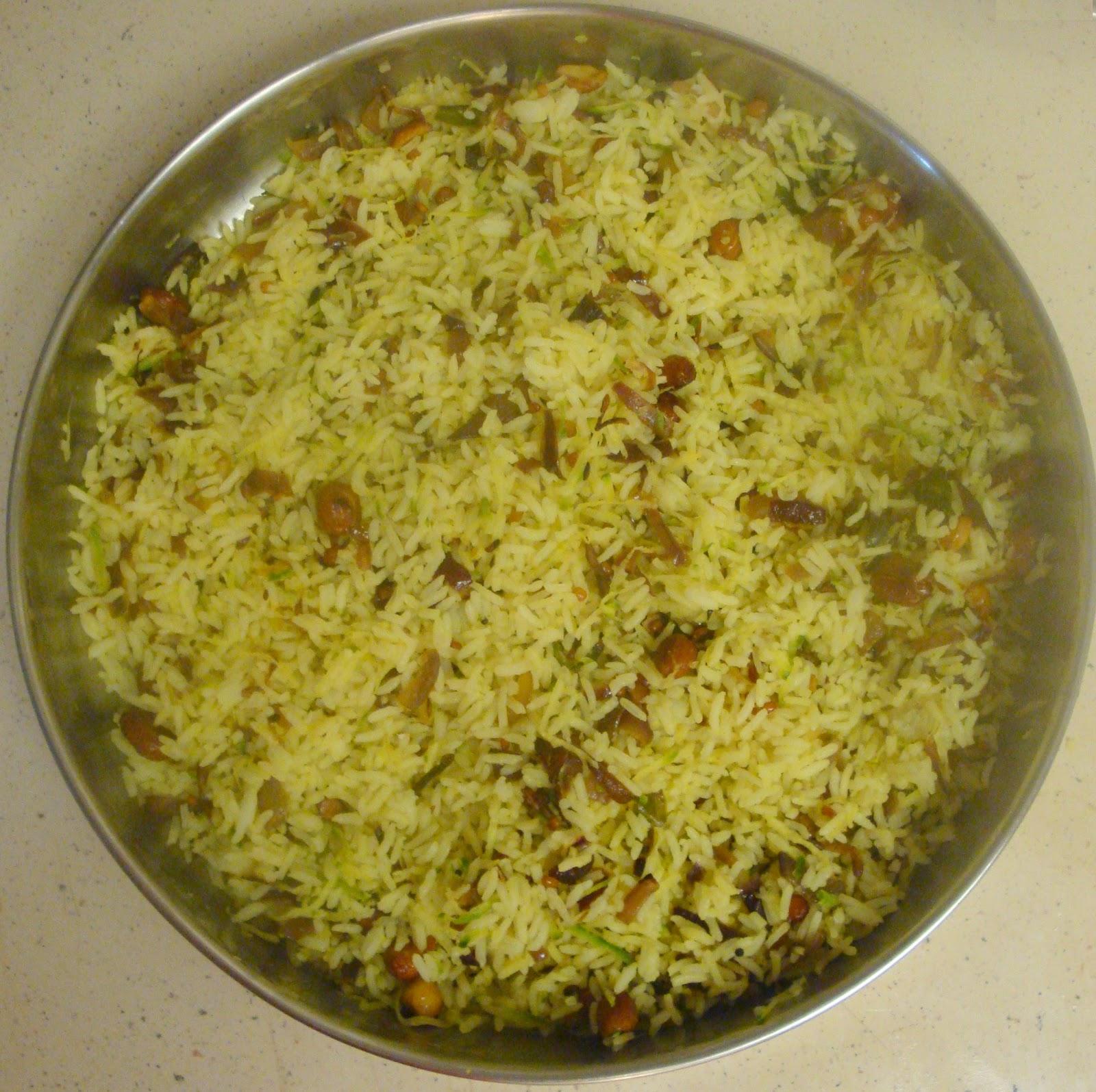 Indian Recipes: Nimbe Chitranna (Lemon Rice)