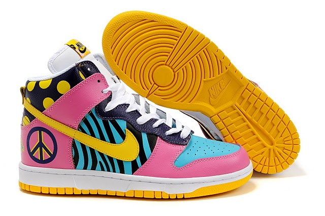 Funky High Tops Nike Dunk High Funky Town