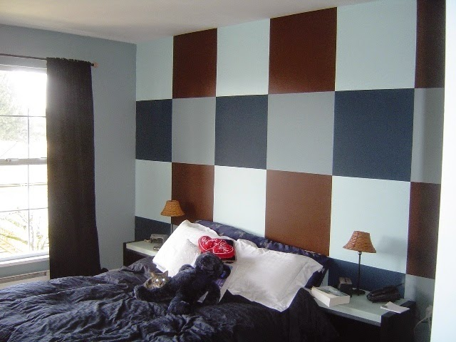 contemporary bedroom paint color