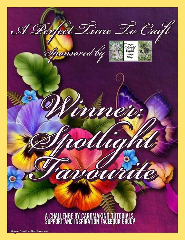 Spotlight Favorite for A Perfect Time To Craft Challenge
