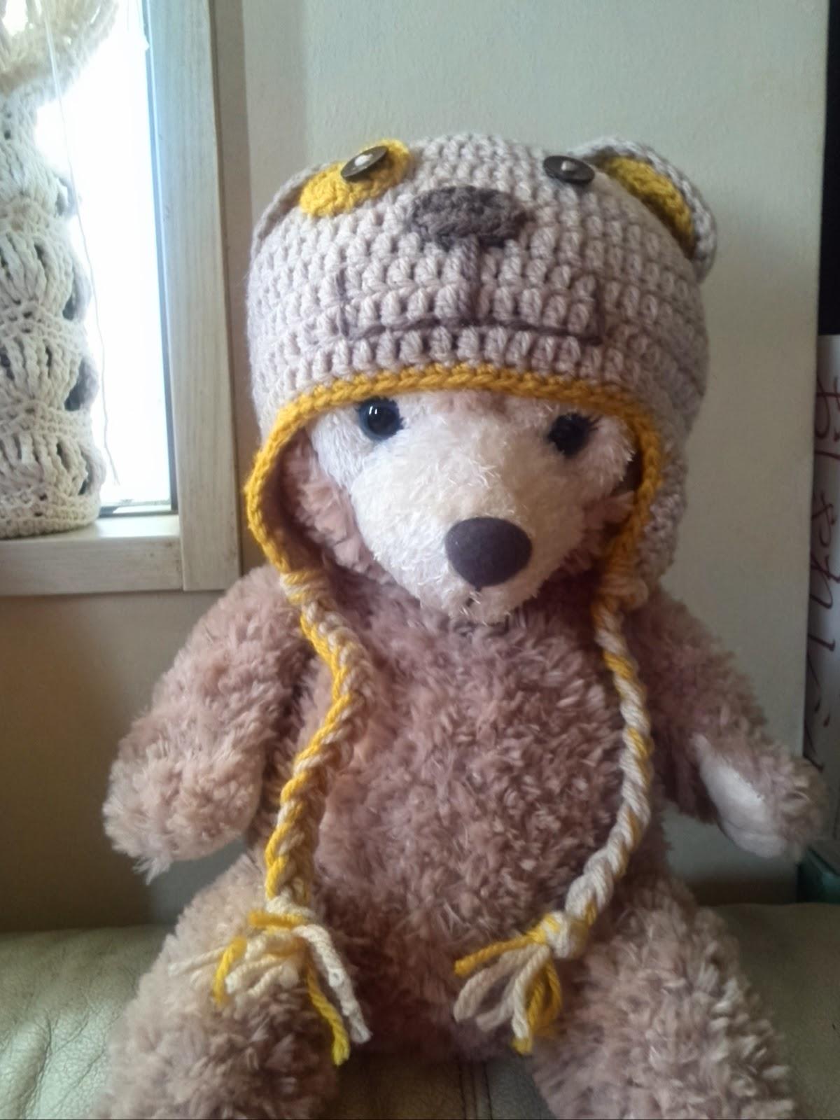 赤ちゃん用かぎ針編み帽子