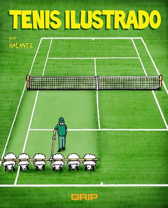 Tenis ilustrado por Galantz