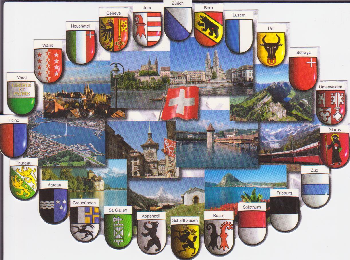 le monde en cartes postales par estelle album suisse cartes postales. Black Bedroom Furniture Sets. Home Design Ideas