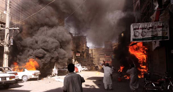 Afghanistan Bomb Blast Images | Taliban Attack Afghanistan ...