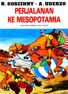 eBook Bahasa Indonesia Asterix - Perjalanan Ke Mesopotamia