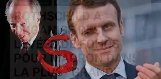"""Γαλλία: Λιτότητα €4,5 δισ. με περιστολή δαπανών ανακοίνωσαν οι Rothschild μεσώ κυβέρνηση Μακρόν! δεν ήθελαν την """"ναζίστρια"""" Μαρίν Λεπέν!!"""