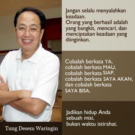 Kata Motivasi Hidup Tung Desem