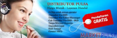 MARKET PULSA™ Server Pulsa Termurah
