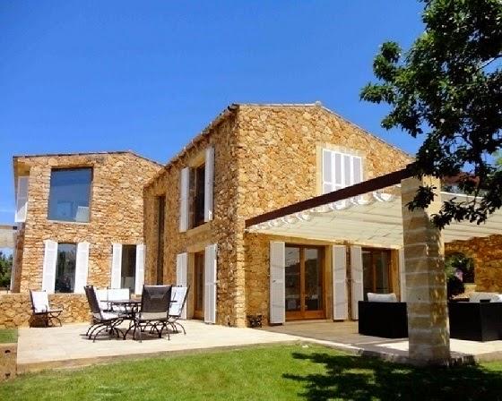 Fachadas de casas de campo modernas fachadas de casas for Fachadas de casas de campo