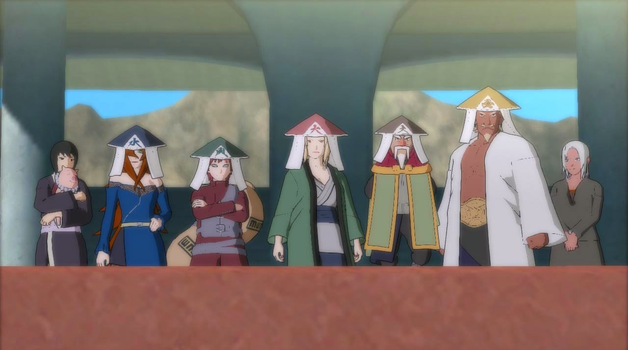 Kages in Naruto Storm RevolutionStorm Revolution Ninja World Tournament Melee Battles