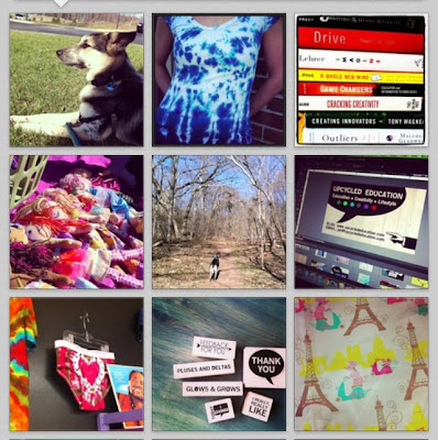 Instagram Collage Upcycled Education