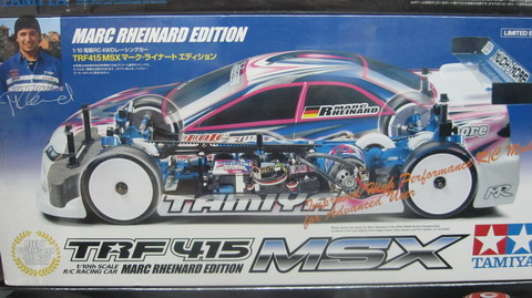 10 rc trf415ms chassis kit le limited edition trf41 tamiya 1 10 rc