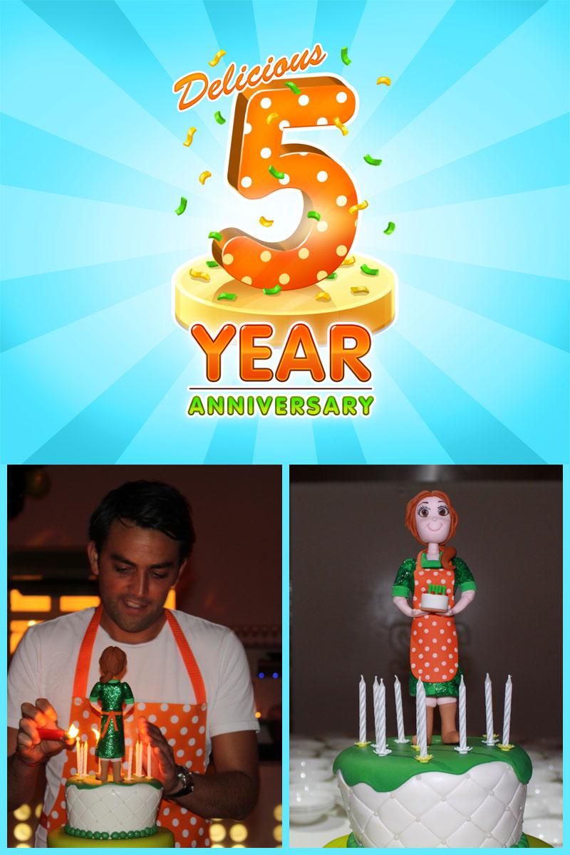 5 year work anniversary message