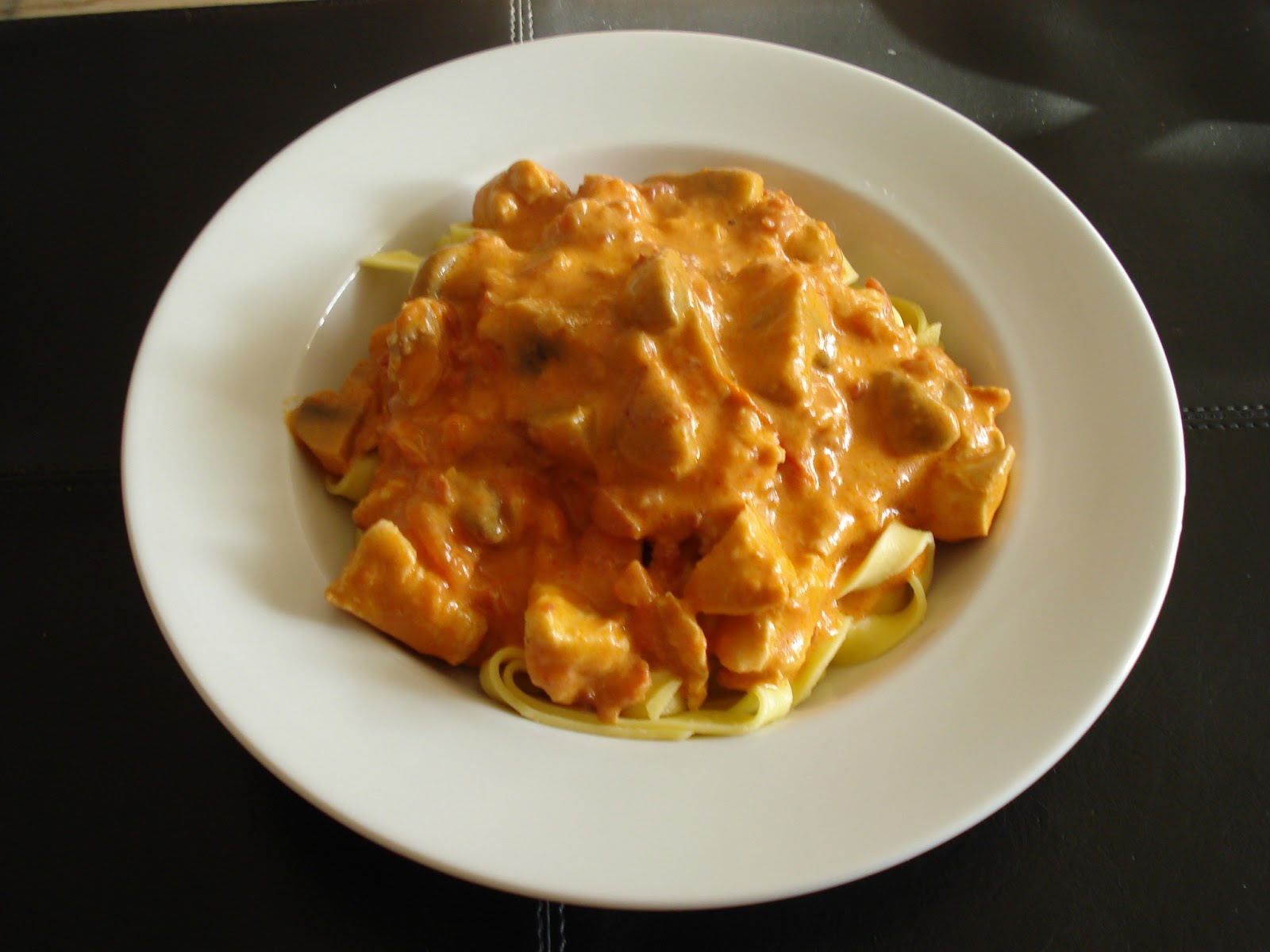 kylling bacon fløde pasta