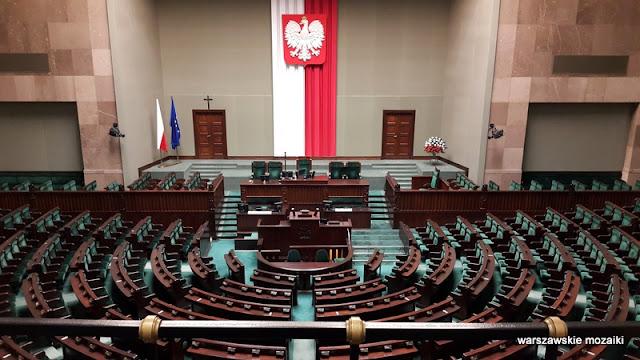 Warszawa Warsaw Wiejska Sejm Rzeczypospolitej Polskiej Pniewski Sala Posiedzeń