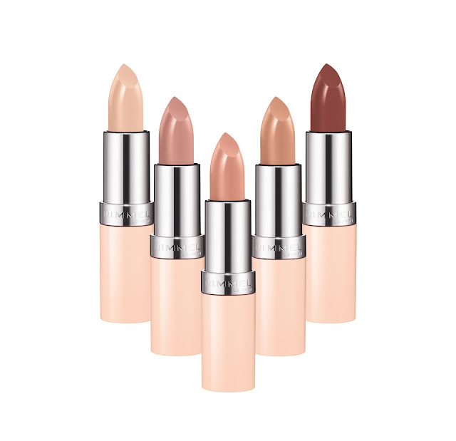 Rimmel by Kate Nude Lipstick Collection