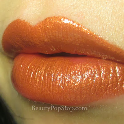 occ authentic lip tar swatch