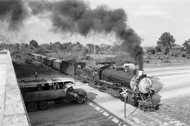 Locomotora cubana en 1925