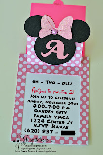 handmade minnie_mouse_invitations