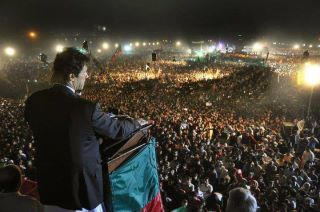imran khan lahore jalsa and pmln rally