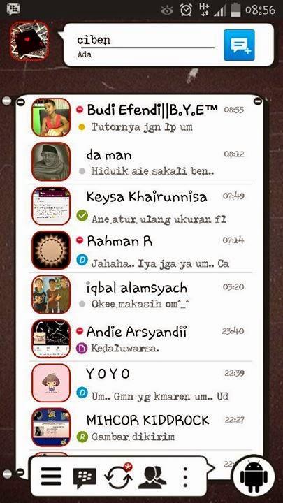 BBM Mod Trafalgar Law 2.7.0.23 Android