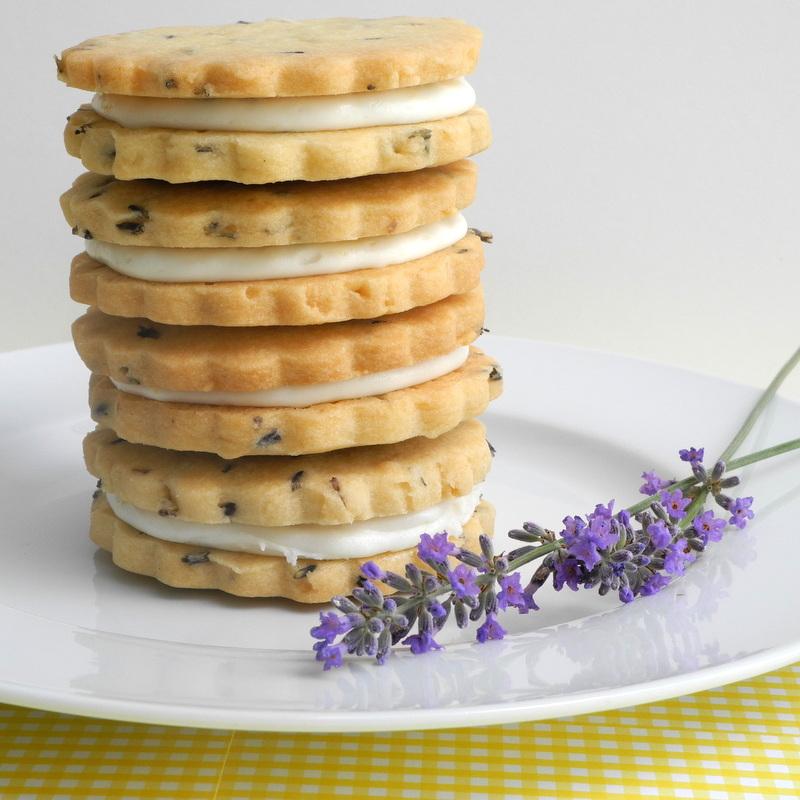 ... Calculu∫ to Cupcake∫: Lemon Filled Lavender Shortbread Cookies