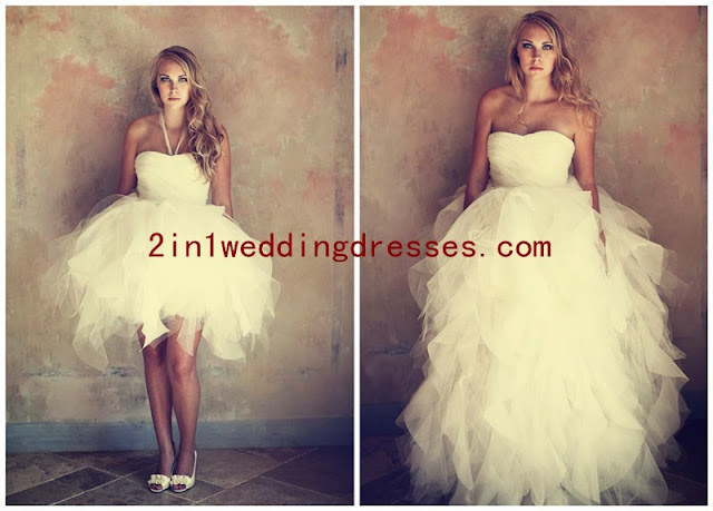 Where to Buy 2 in 1 Ball Gown Wedding Dress