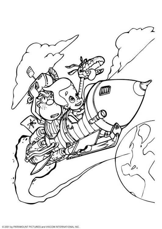 nichelodian coloring pages - photo#2