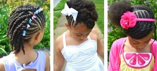 Lil Girl Hair Braiding Styles: Styles With Personality Hair Care Tips: Signals That Your