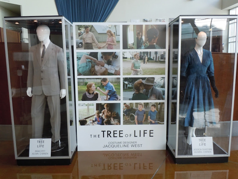 The Tree of Life movie costume display