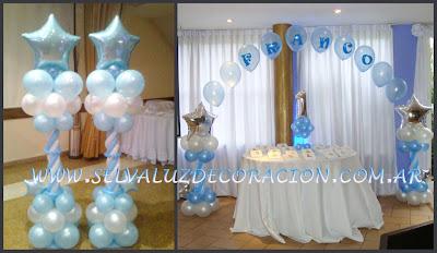 Selva luz decoraci n con globos buenos aires argentina for Decoracion de bautismos