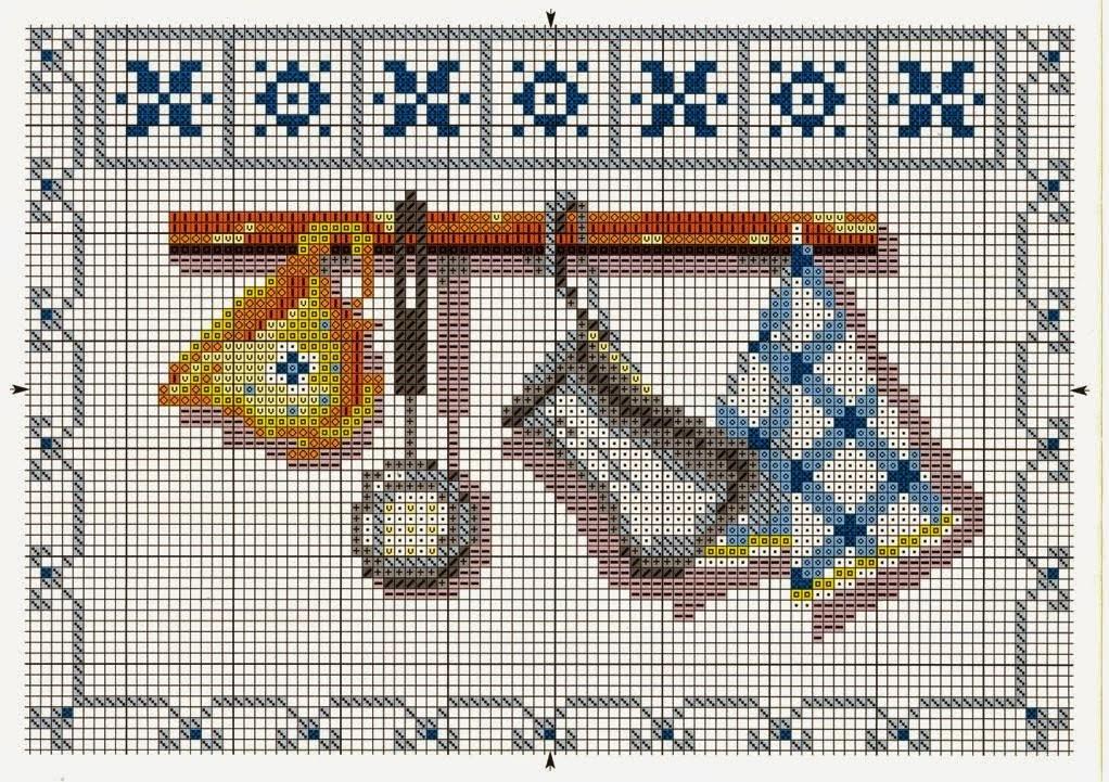 Hobby lavori femminili ricamo uncinetto maglia for Schemi punto croce animali gratis
